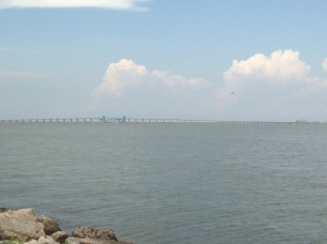 The Galveston Causeway